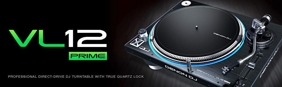 Amazon.com: Denon DJ VL12 PRIME   Bandeja profesional con ...