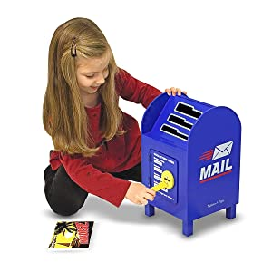 post office, toy for 3 year old, boy, girl, preschool, letters, cards, postage