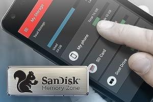 SanDisk Ultra microSDXC UHS-I Card, 256GB - Memory Zone App