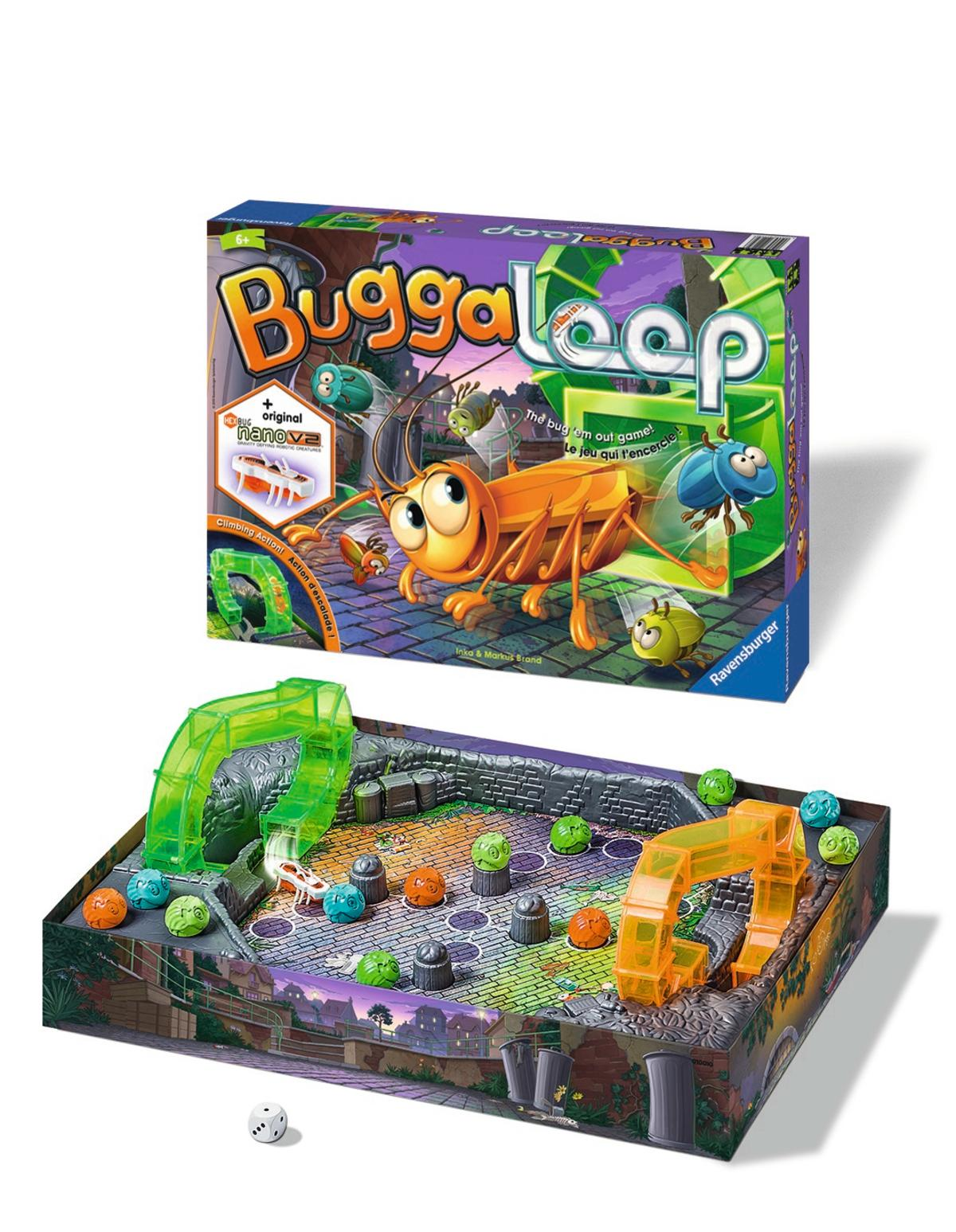 Amazon Com Ravensburger Buggaloop Board Game Toys Amp Games