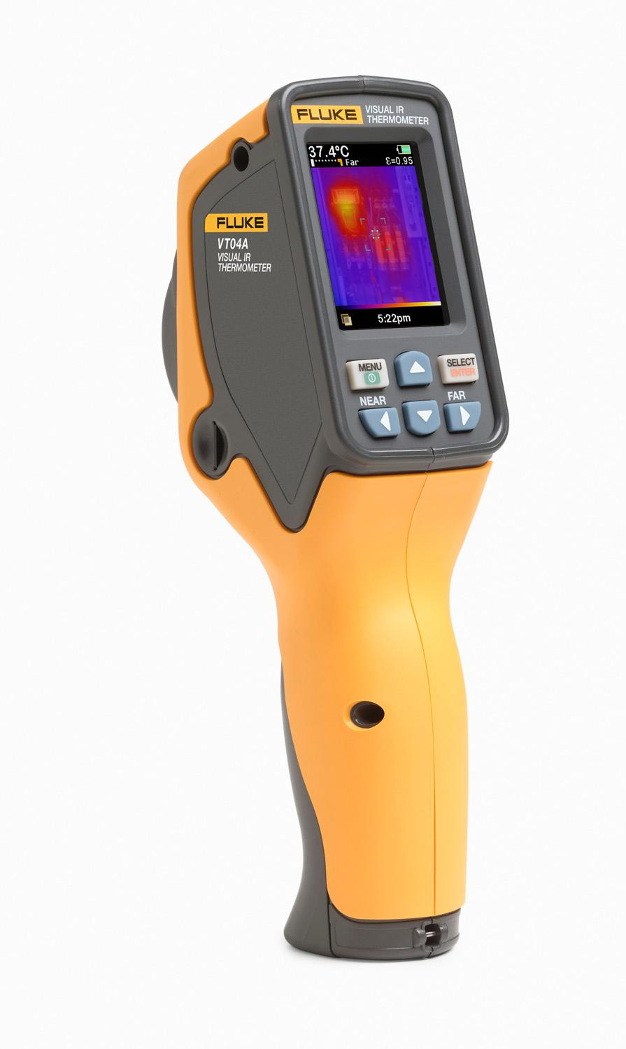 Fluke VT02 Visual IR Thermometer: Electronic Test Points