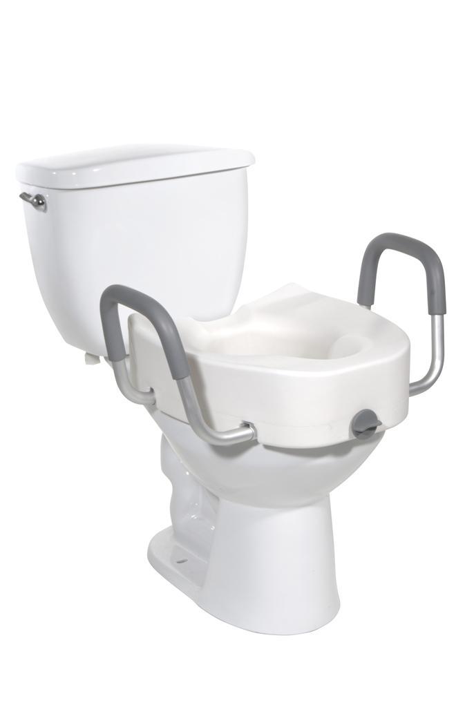 Amazon Com Drive Medical Premium Plastic Raised Toilet