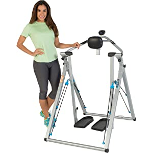 "PROGEAR Freedom 48"" Stride Air Walker Elliptical LS1 with Heat Pulse Monitor"