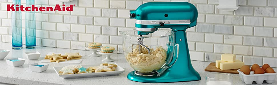 Amazon.Com: Kitchenaid Ksm155Gbca 5-Qt. Artisan Design Series With