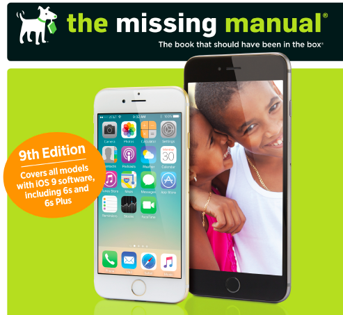 Amazon iphone the missing manual 9781491917916 david pogue view larger fandeluxe Image collections