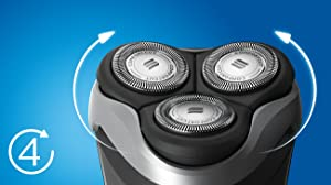 Philips Norelco, Electric Shaver, Electric Razor, Series 3000, Shaver 3500