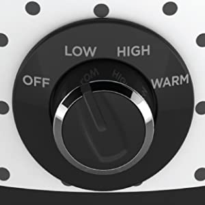 Three Heat Settings