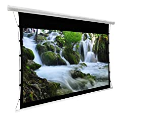 Tab-Tension Electric Projector Screens (RF Remote)