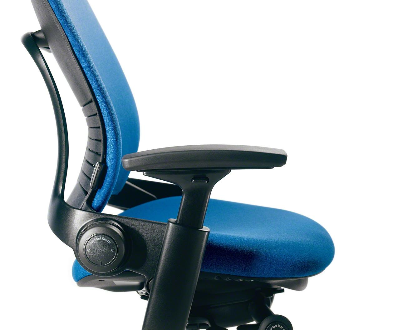 Amazon Com Steelcase Leap Chair Black Fabric Kitchen