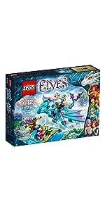 lego elves the water dragon adventure lego elves fire dragon 39 s lava