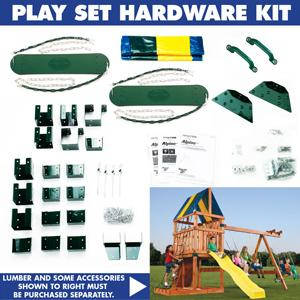 Amazon Com Alpine Custom Swing Set Hardware Kit Wood Not
