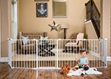 Amazon Com Regalo 192 Inch Super Wide Gate And Play Yard