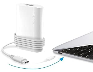 Innergie PowerGear USB-C 45 45W Laptop Adapter - White (PowerGear USB-C 45)