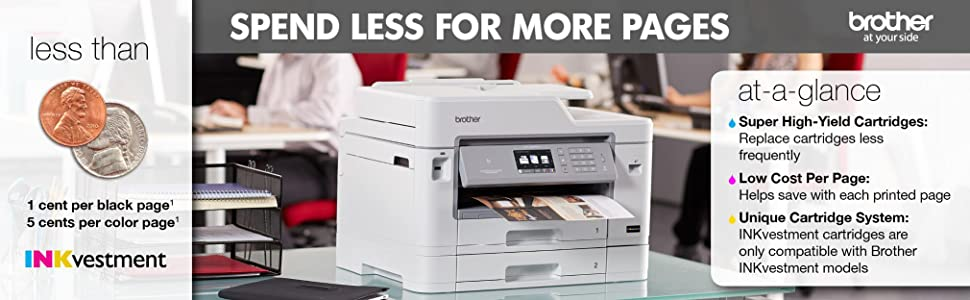 Amazon Com Brother Mfc J5930dw All In One Color Inkjet