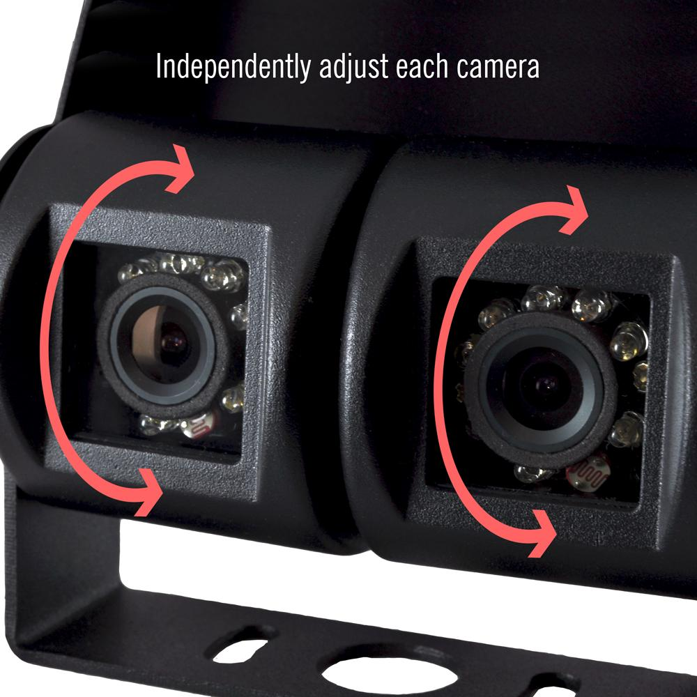 Amazon.com: Pyle PLCMTR26 Dual Weatherproof Rearview Backup Camera for Bus, Truck, Trailer and