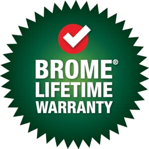 lifetime warranty, remplacement parts