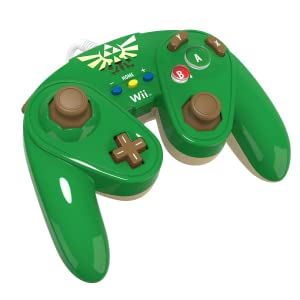 Amazon.com: PDP Wired Fight Pad for Wii U - Link: nintendo