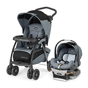 Amazon.com : Chicco Cortina CX Travel System, Iron : Baby