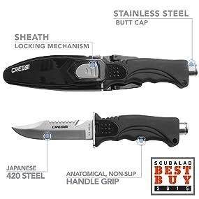 scuba knife scuba knife titanium, scuba knife leg holster, scuba knife co2, diving knife,
