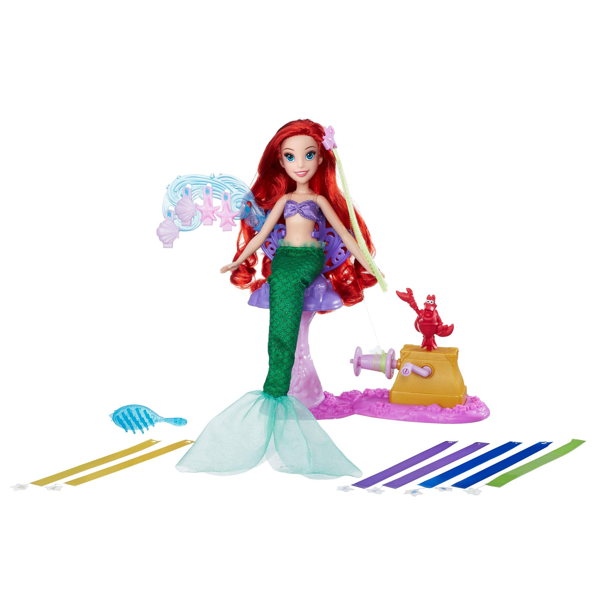Amazon.com: Disney Princess Ariel's Royal Ribbon Salon ...