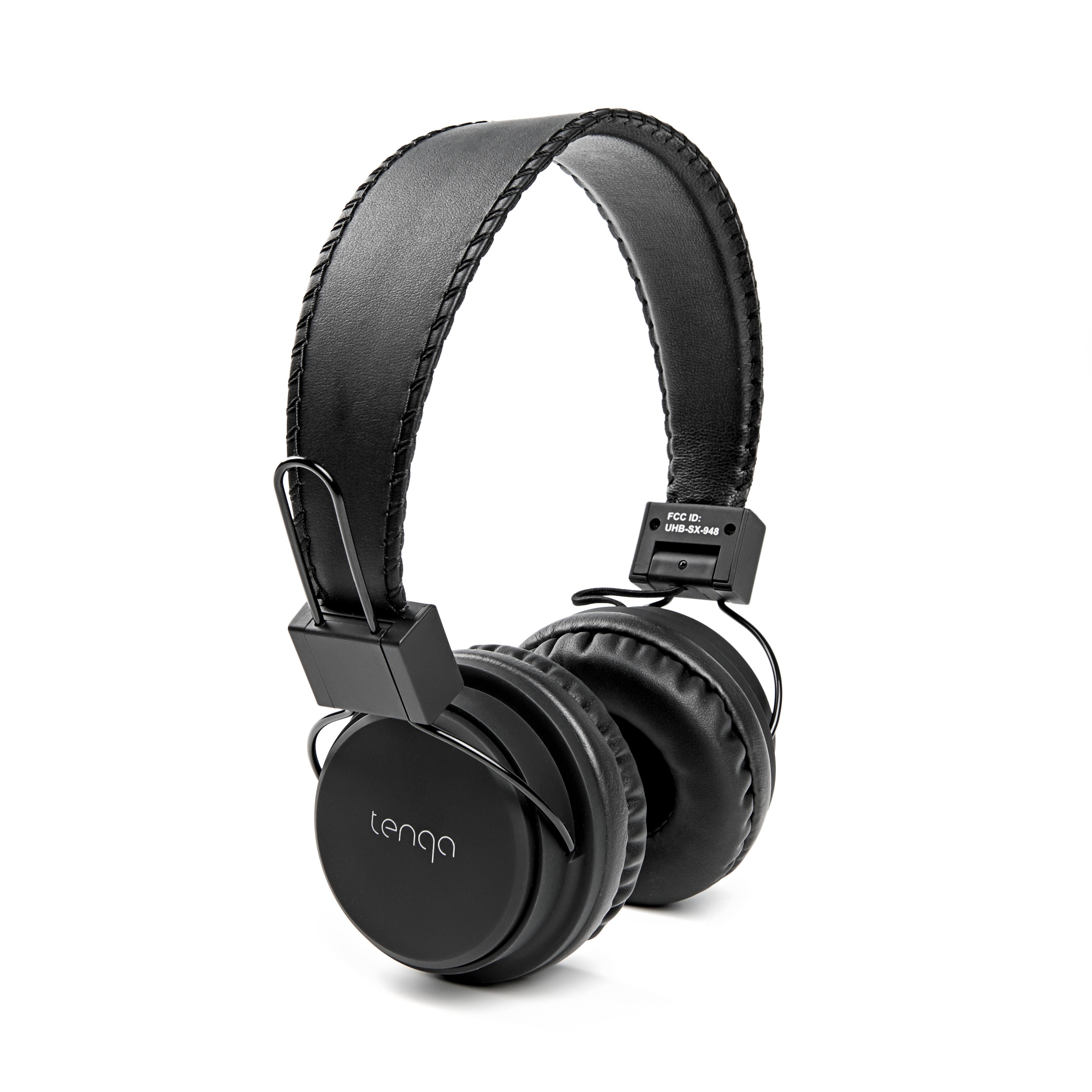 tenqa remxd wht wireless bluetooth headphones white home audio theater. Black Bedroom Furniture Sets. Home Design Ideas