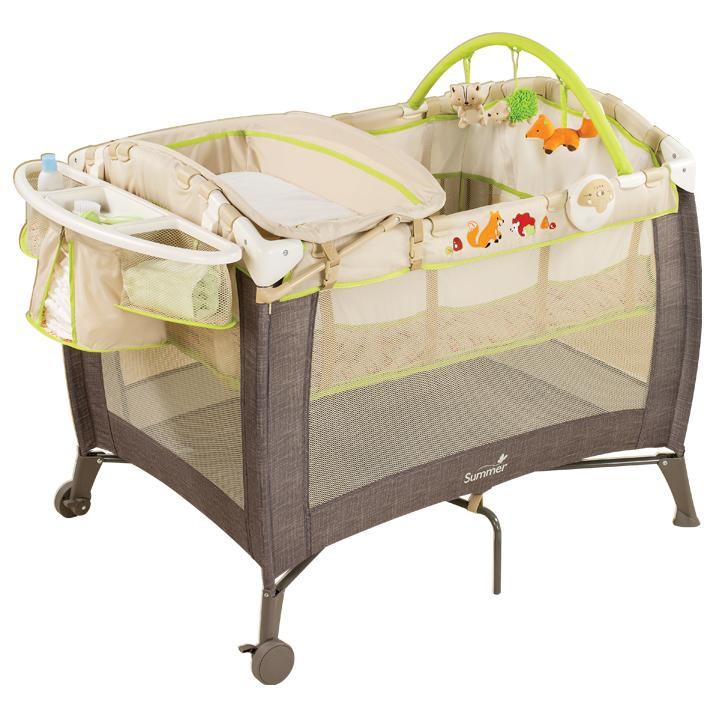 Amazon Com Summer Grow With Me Playard And Changer Fox