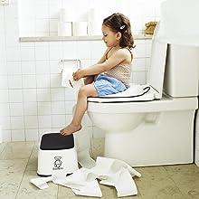 Amazon Com Babybjorn Toilet Trainer White Black
