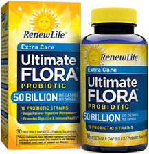 Amazon.com: Renew Life Ultimate Flora Probiotic Formula, Extra Care