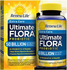 Amazon.com: Renew Life Ultimate Flora Probiotic Formula, Extra Care