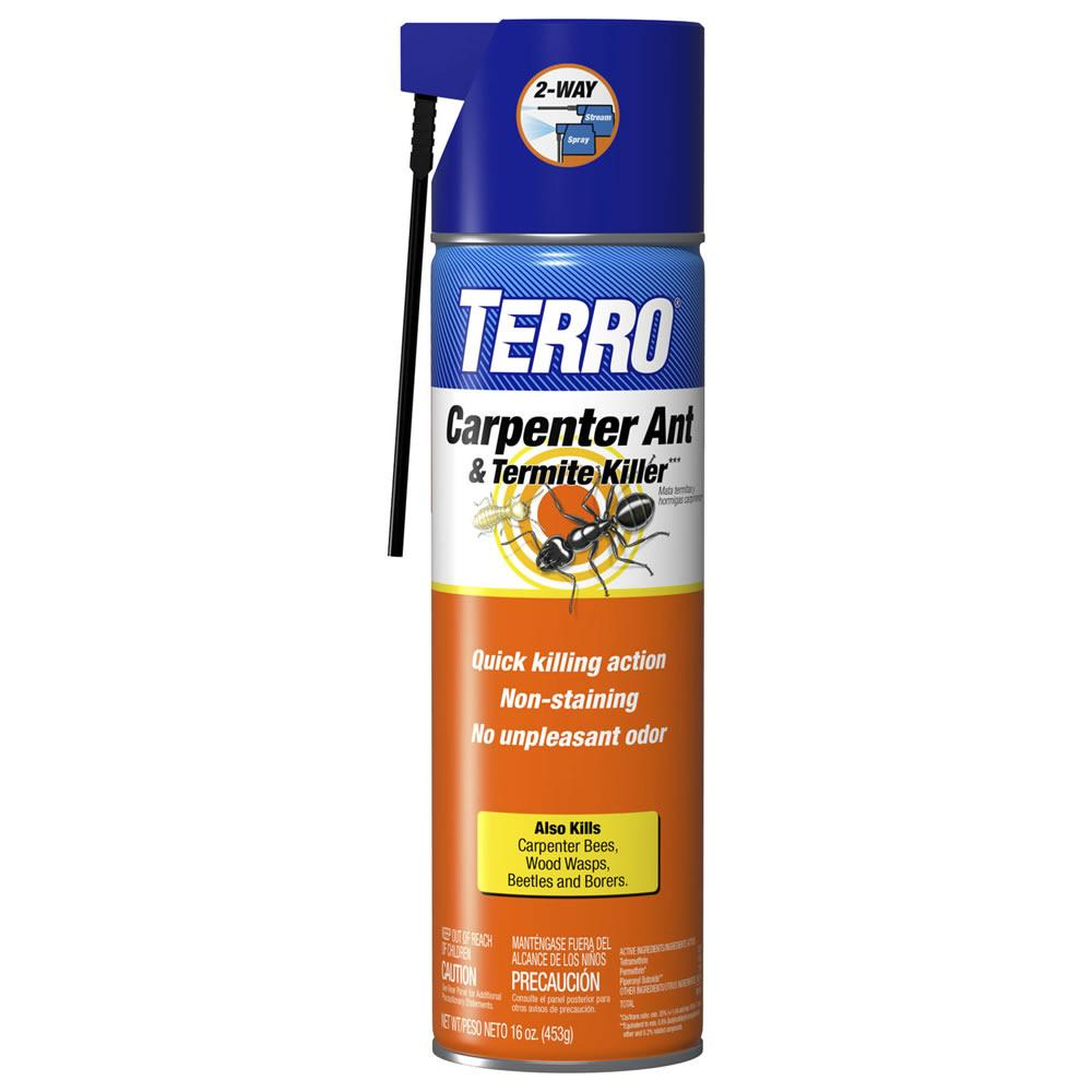 Uncategorized Spray To Kill Termites amazon com terro 16 oz carpenter ant termite killer aerosol killler spray