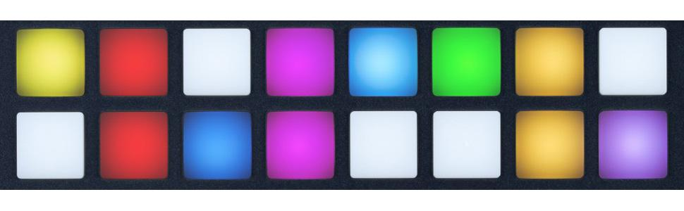 RGB LED Backlit Pads