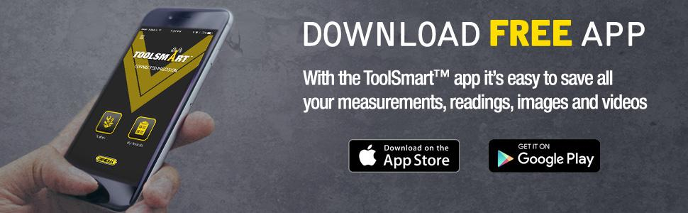 connected tools, free app, layout tool, toolsmart, digital angle finder, protractor, angle finder