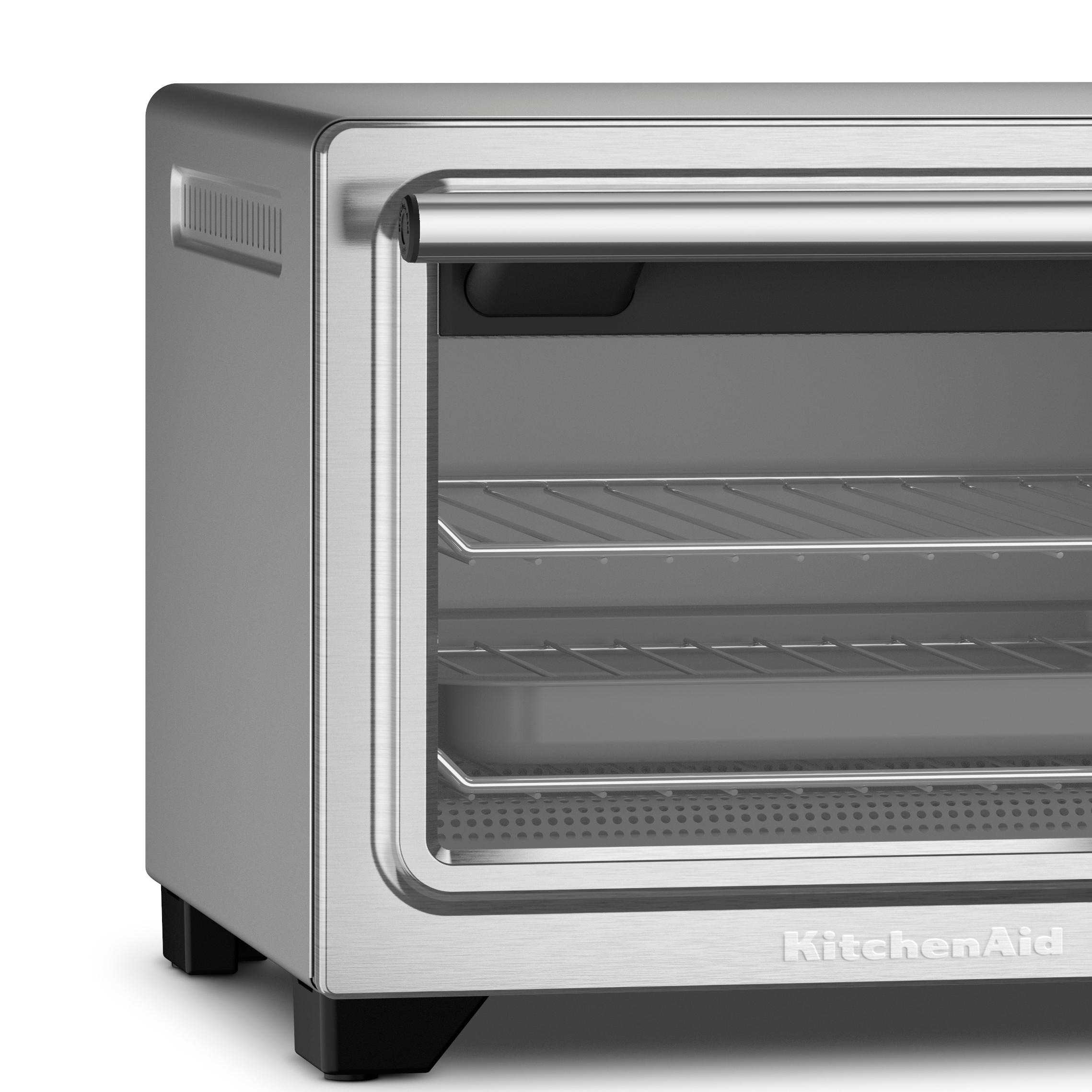 Countertop Convection Oven Kitchenaid : .com: KitchenAid KCO253CU 12-Inch Compact Convection Countertop Oven ...