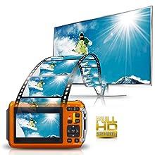 DMC-TS6A 1920 x 1080p Full HD Video Recording