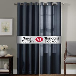 smart curtains ultimate light blocking window panel - Smart Curtains