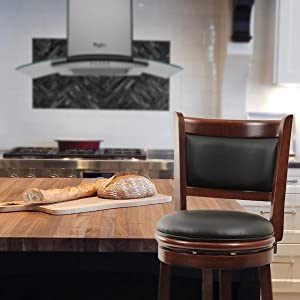 boraam augusta swivel stool kitchen