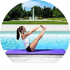 ProSource Pilates exercise mat, yoga and Pilates mat, buy Pilates mat, Pilates mat order, buy