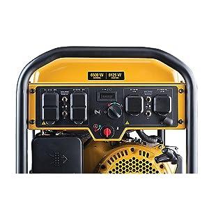Portable Generator Cat RP6500E with Eletric Start 6500 starting 8125 running Watts