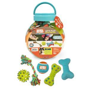 Animal Planet Dog Squeaker Toy Set