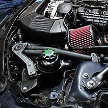 Mishimoto MMBCC-N54-06CBE BMW N54 Baffled Oil Catch Can, CCV Side,  2007-2010, Black