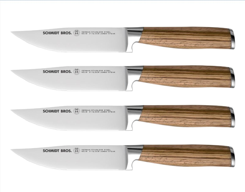 Hudson home schmidt brothers cutlery szews04 for Zebra kitchen set