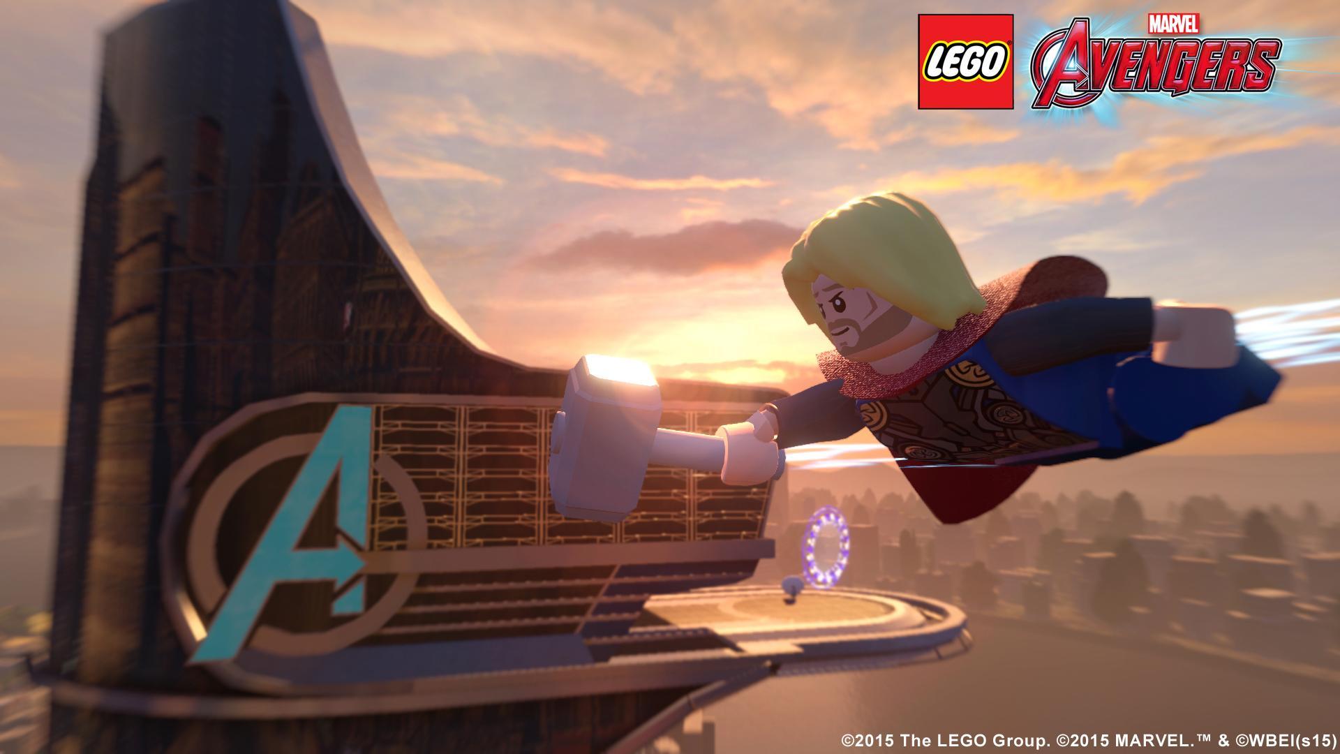 Amazon Com Lego Marvel S Avengers Xbox 360 Whv Games Video Games