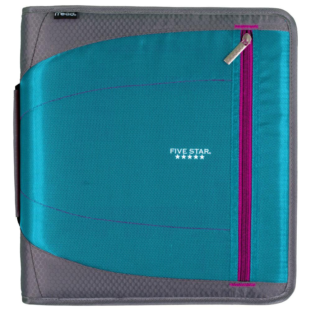 Five Star Zipper Binder, 2 Inch, 3 Round Ring Binder, 530