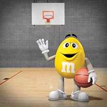 Reward yourself and your team with a chocolate treat such as M&M'S Peanut Candies in fun size bags.