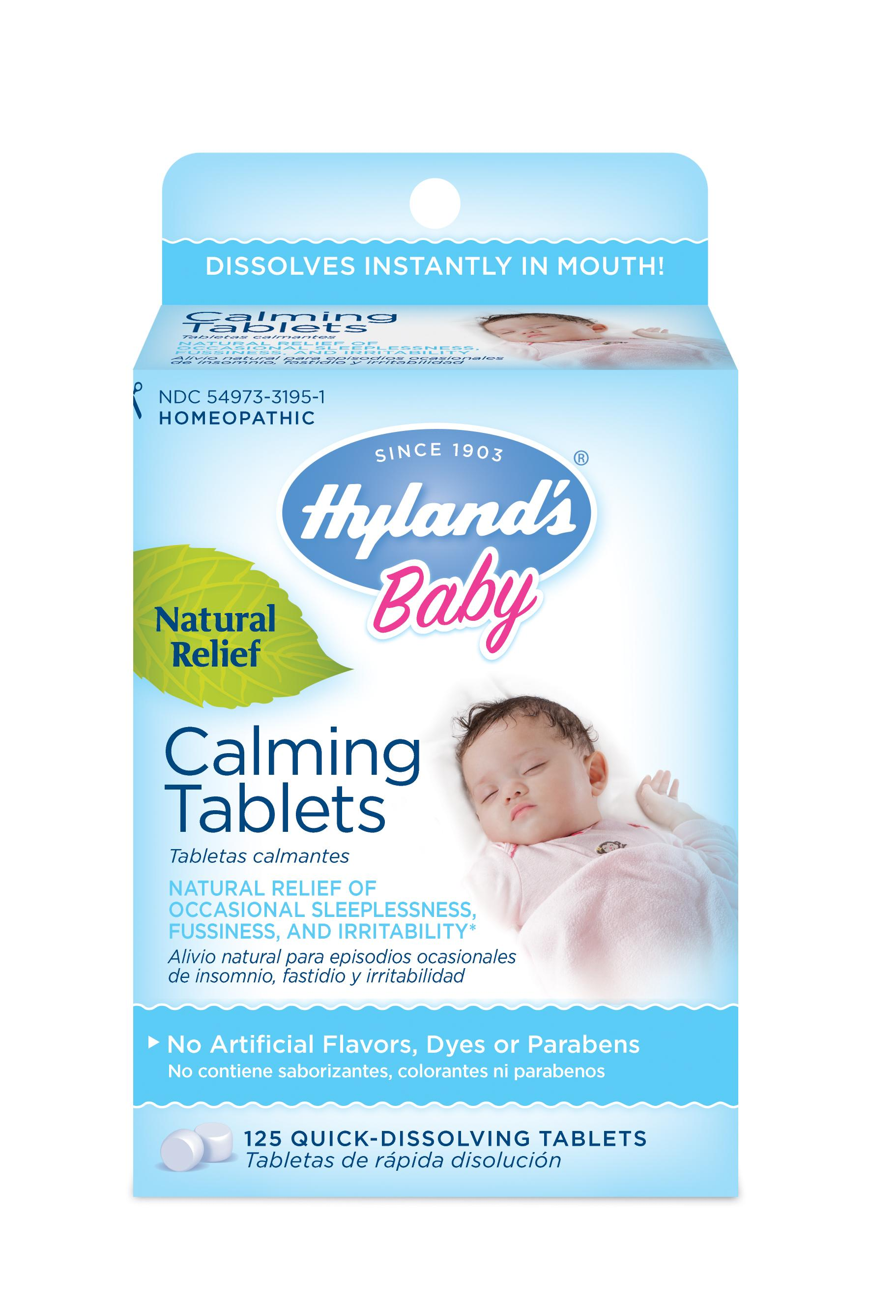 Amazon.com: Hyland's Baby Calming Tablets, Natural Relief ...