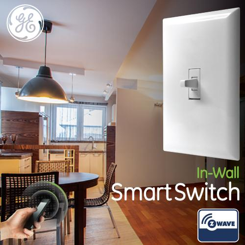 Take control of your home lighting with GE Z-Wave Smart Lighting Controls! & GE Z-Wave Wireless Smart Lighting Control Smart Toggle Switch On ... azcodes.com
