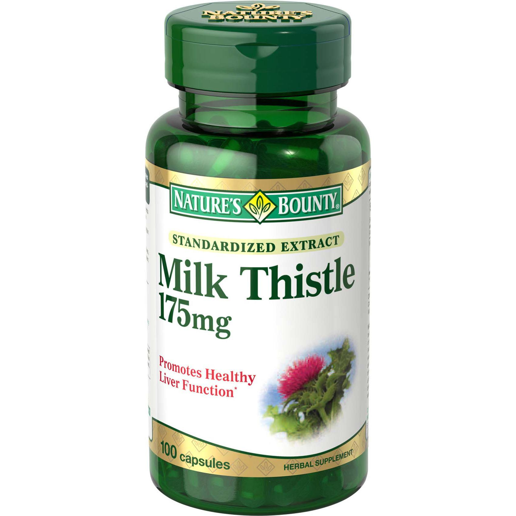 bounty thistle milk nature natures amazon caplets liver silymarin