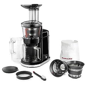 Kitchenaid Kvj0111 Maximum Extraction Slow Juicer : Amazon.com: KitchenAid KvJ0111OB Maximum Extraction Juicer ...