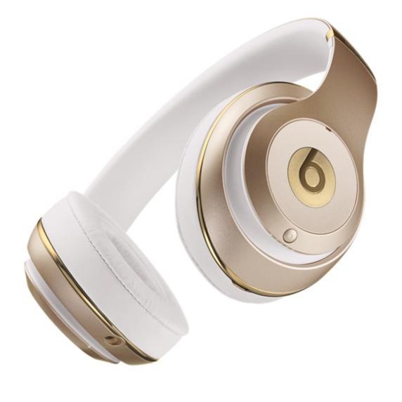 beats studio wireless over ear headphone gold home audio theater. Black Bedroom Furniture Sets. Home Design Ideas