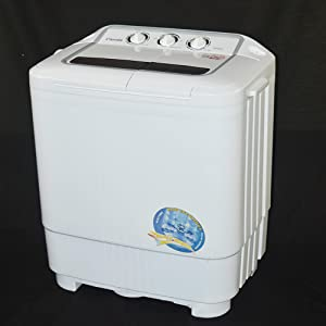 Good Panda Small Compact Portable Washing Machine 7.9lbs Capacity With Spin Dryer    Built In Pump